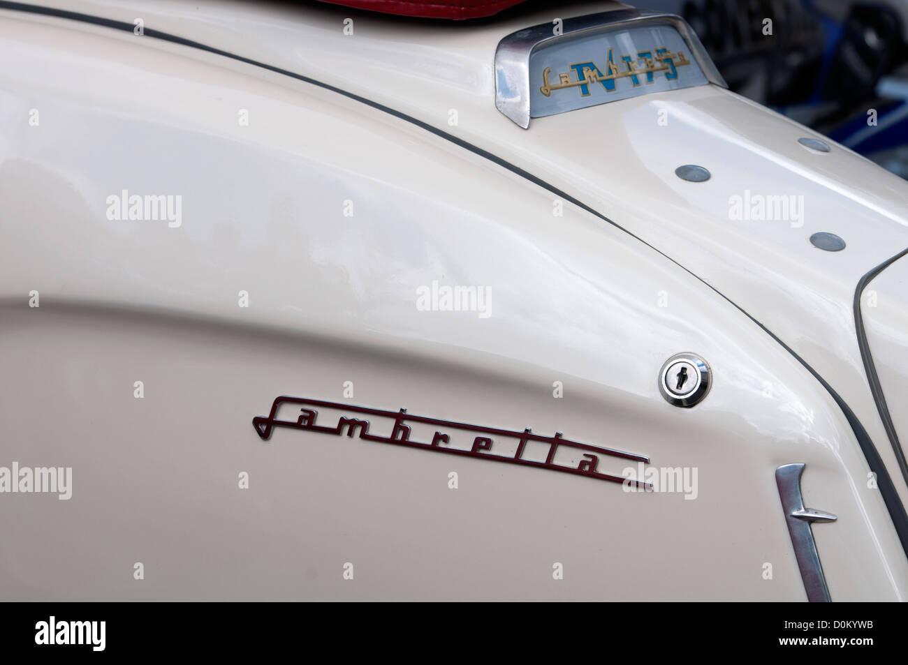 Lambretta TV 175 motor scooter - Stock Image