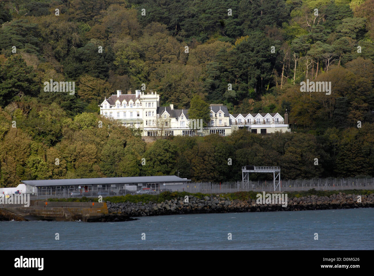 Fishguard Bay Hotel, Goodwick , Wales, UK - Stock Image