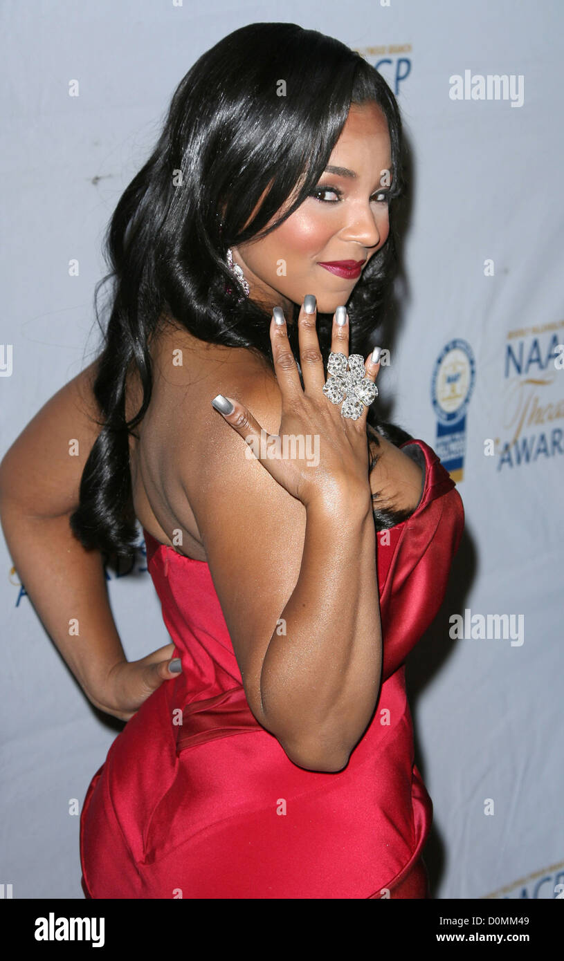 Ashanti th Annual NAACP Theatre Awards held at the Directors Guild of America West Hollywood California - Stock Image