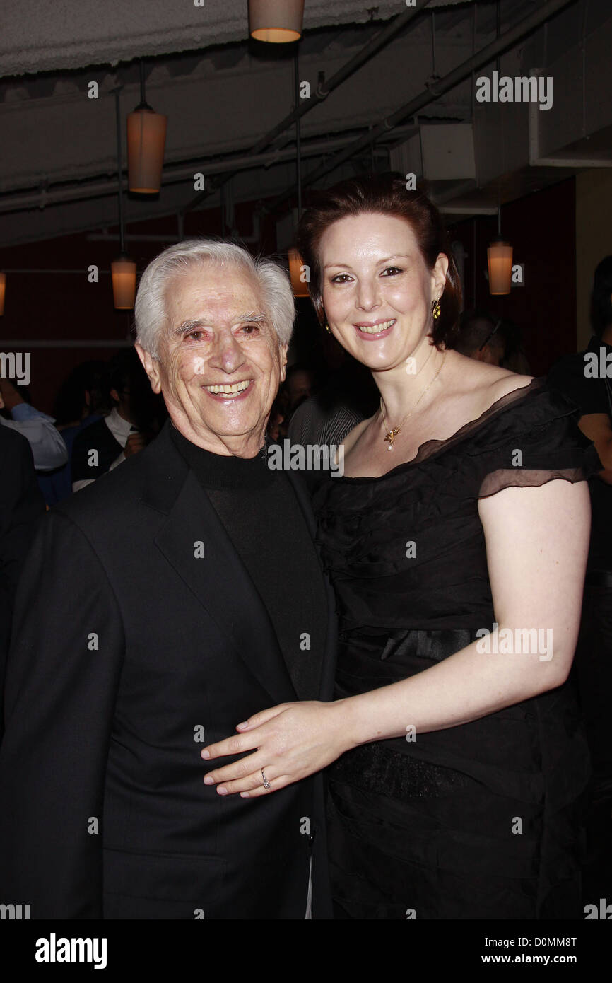 Luigi Creatore and Kim Wield Opening night of the Off-Broadway production of 'An Error Of The Moon' Theatre - Stock Image