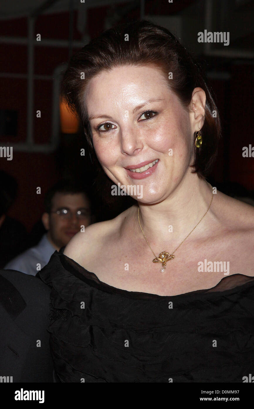 Kim Wield Opening night of the Off-Broadway production of 'An Error Of The Moon' at Theatre Row's Beckett - Stock Image