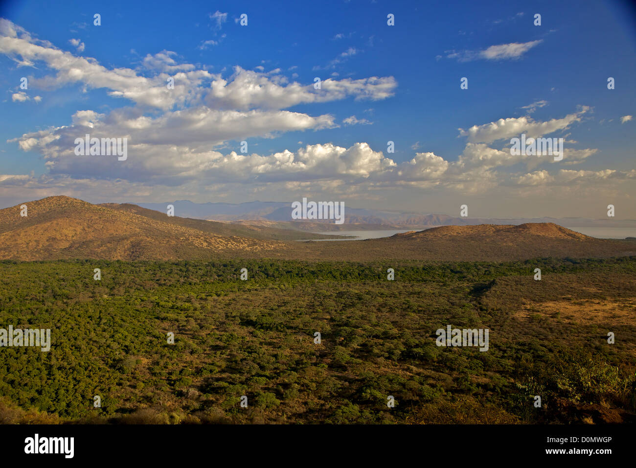View of the bridge of God at Nechisar National Park, southern Ethiopia. Stock Photo