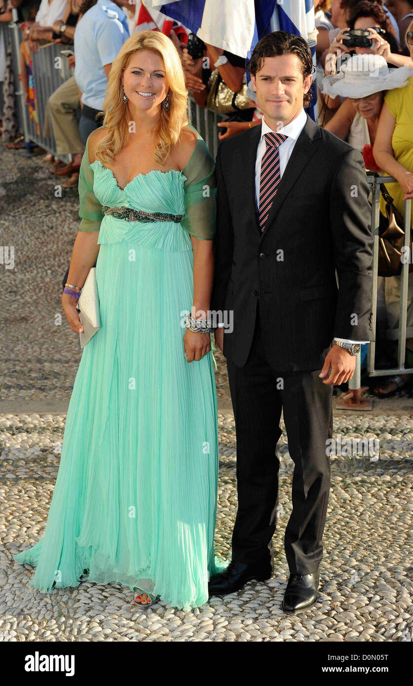 Princess Madeleine, Prince Carl Philip Guests arrive for Prince ...