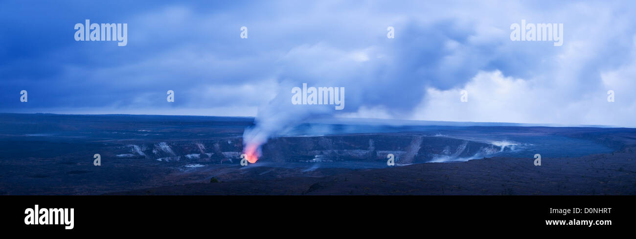 Steam Vent on Kilauea Caldera. Hawaii. - Stock Image