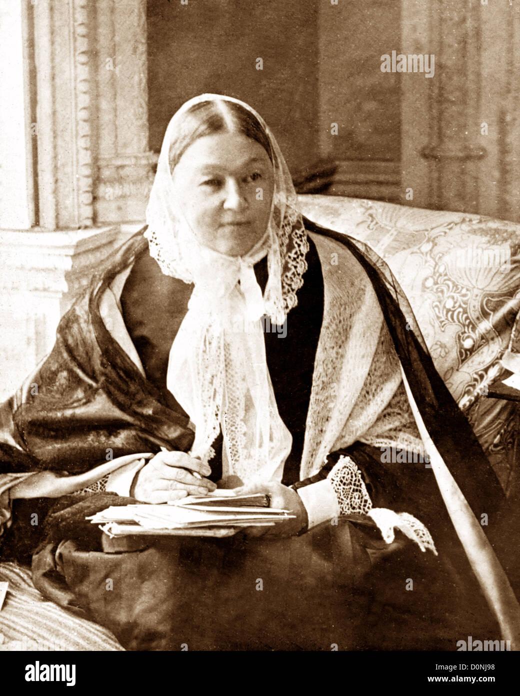 7aec18c46bc Florence Nightingale Victorian Heroine Nurse Stock Photo: 52106468 ...