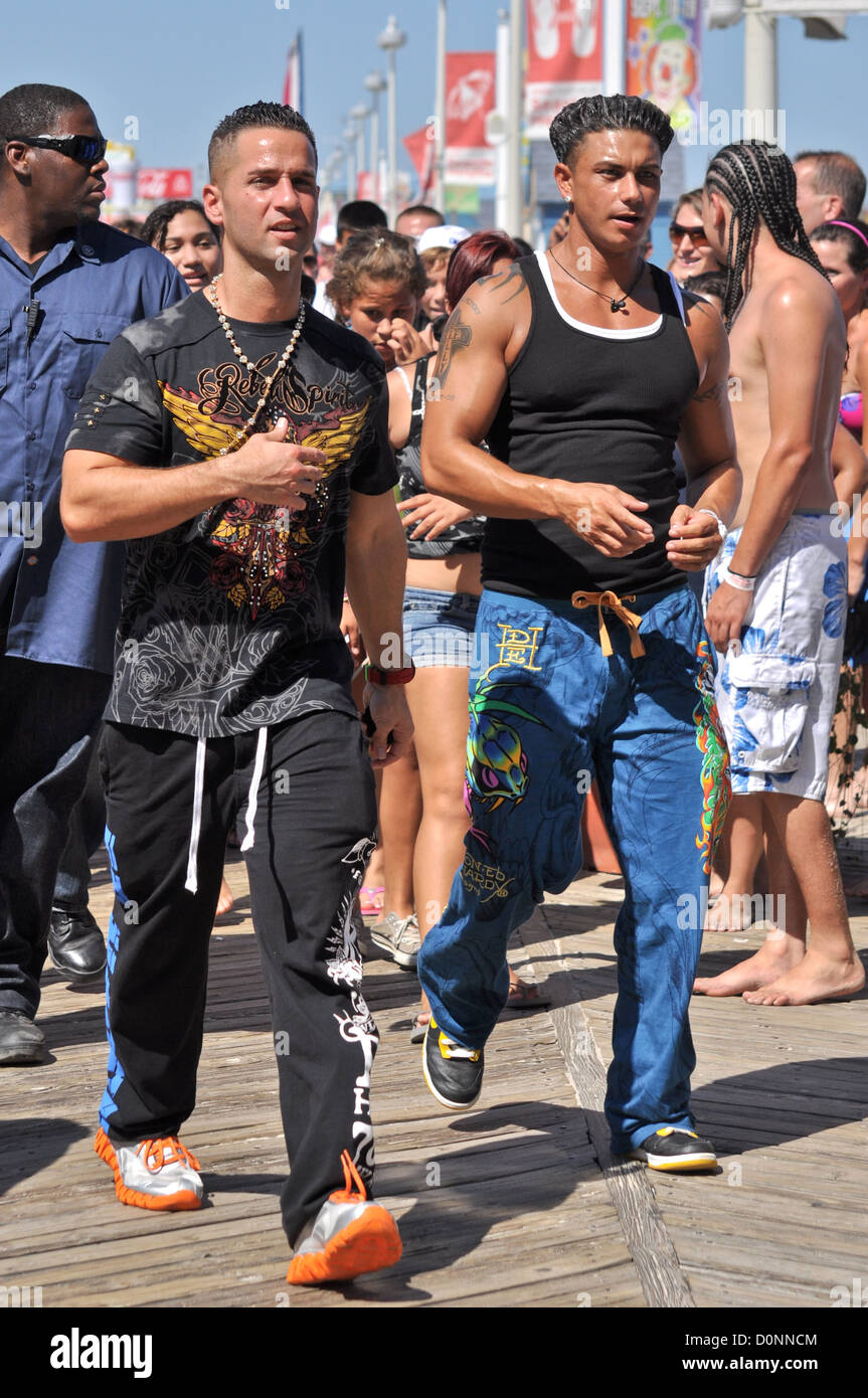 Jersey Shore cast Mike Sorrentino aka The Situation and Paul ...