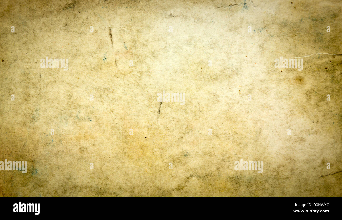 Old Dirty Vintage Paper Texture Background - Stock Image