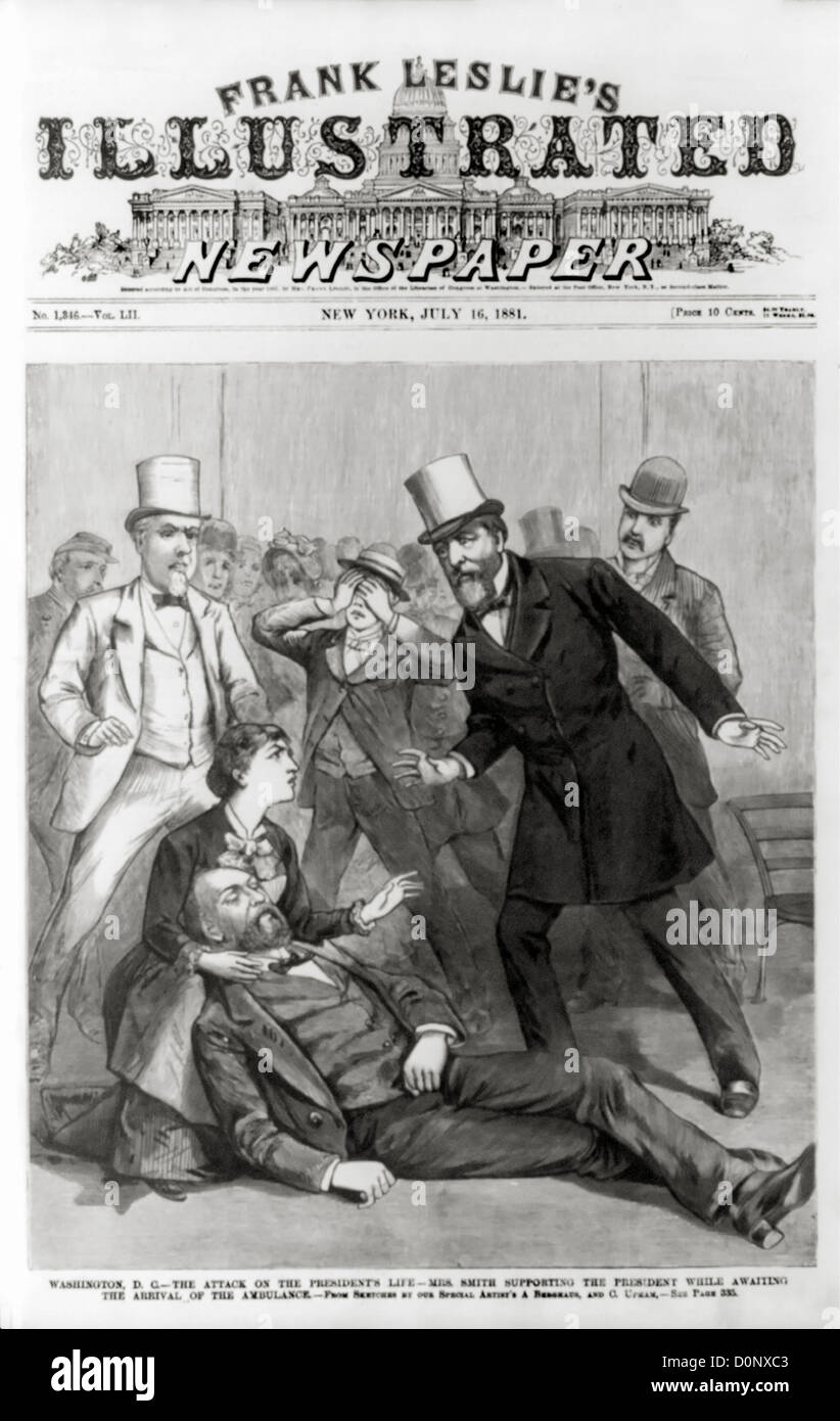 James Garfield Assassination High Resolution Stock Photography And Images Alamy