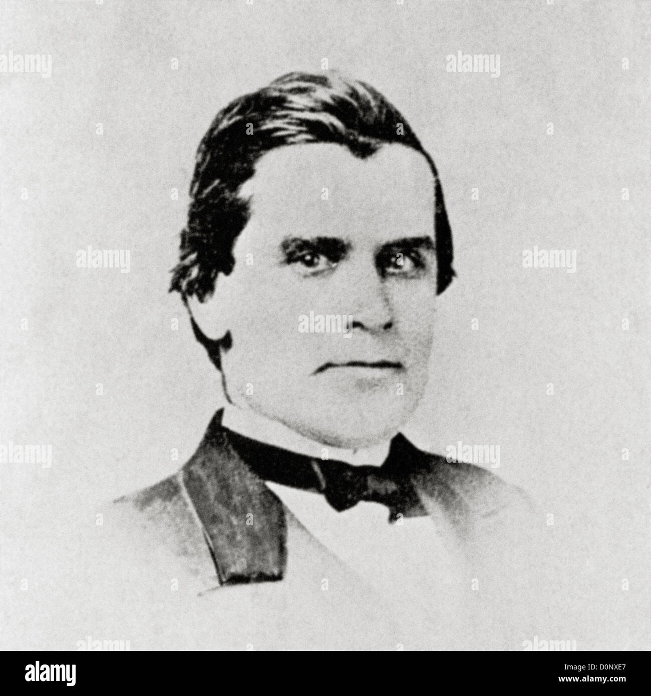 William McKinley at Nineteen Years Old - Stock Image