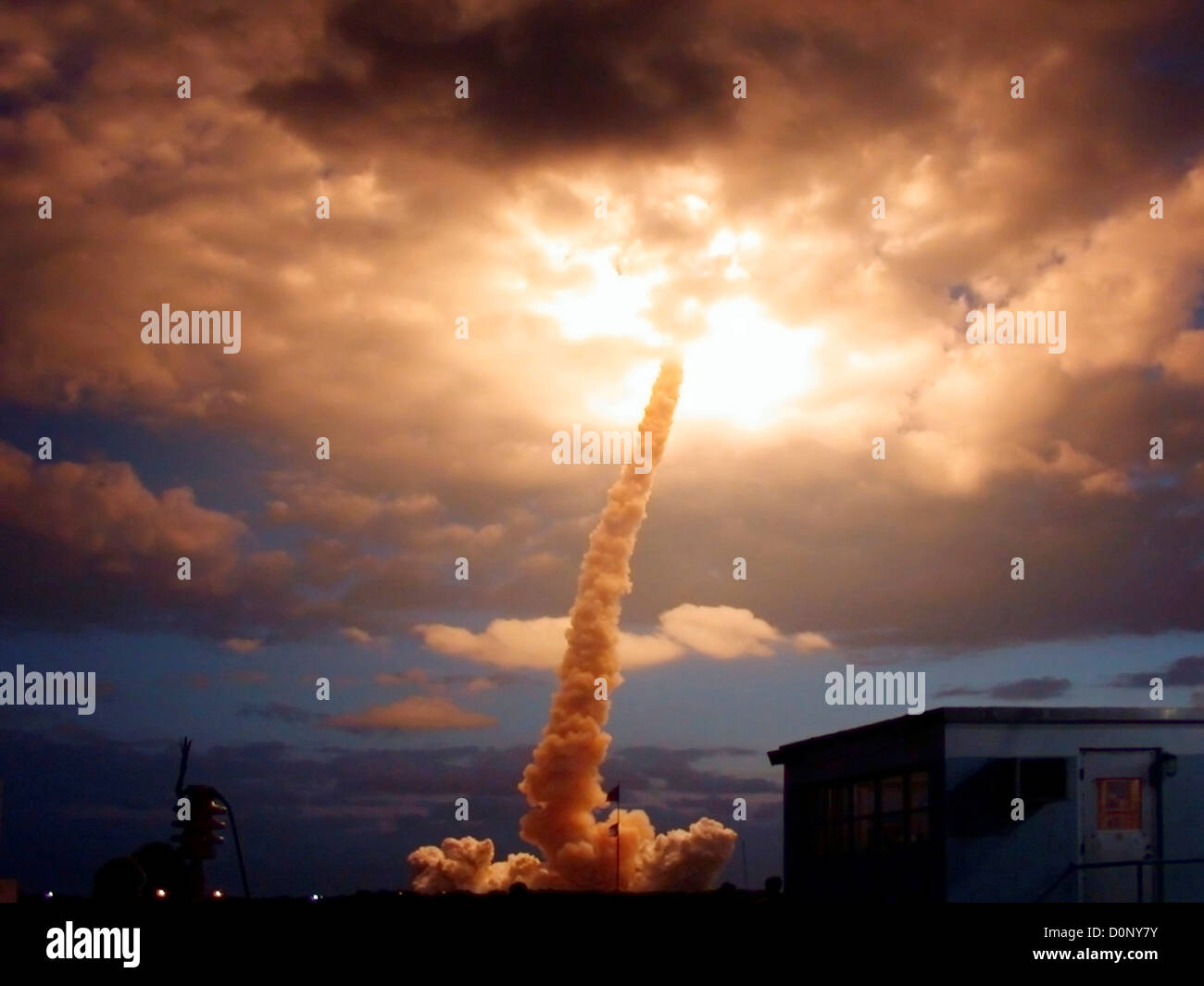 Launch of STS-109 Shuttle Mission - Stock Image