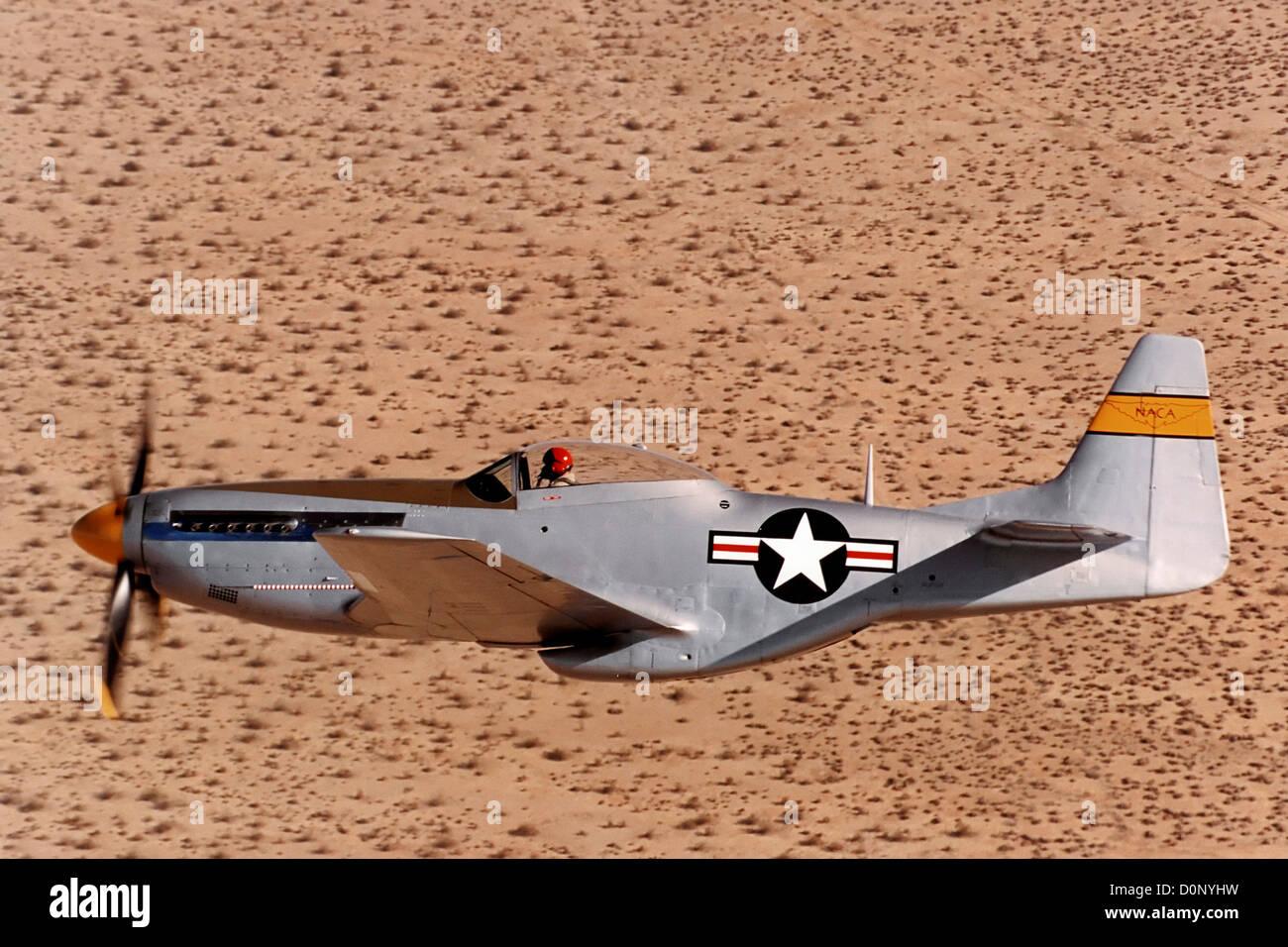 P-51 Mustang - Stock Image