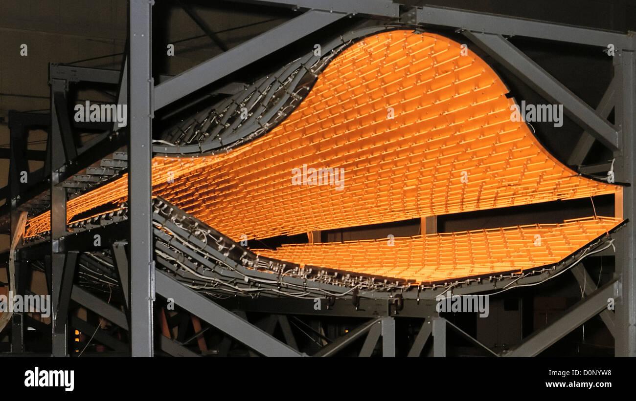 Radiant Heater for YF-12 - Stock Image