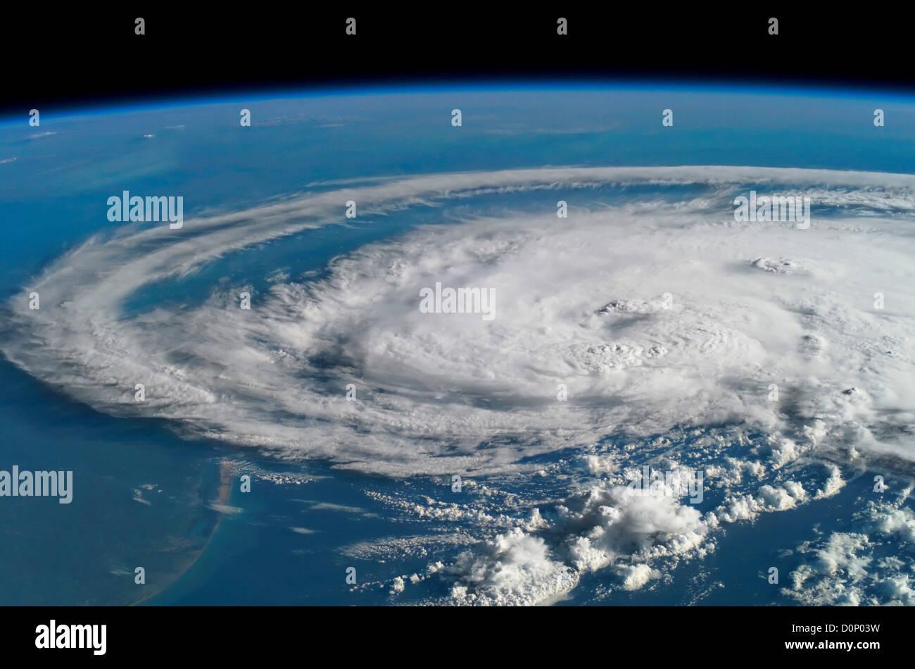 Hurricane Claudette - Stock Image