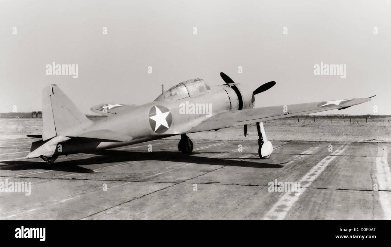First Japanese Zero Captured Intact - Stock Image
