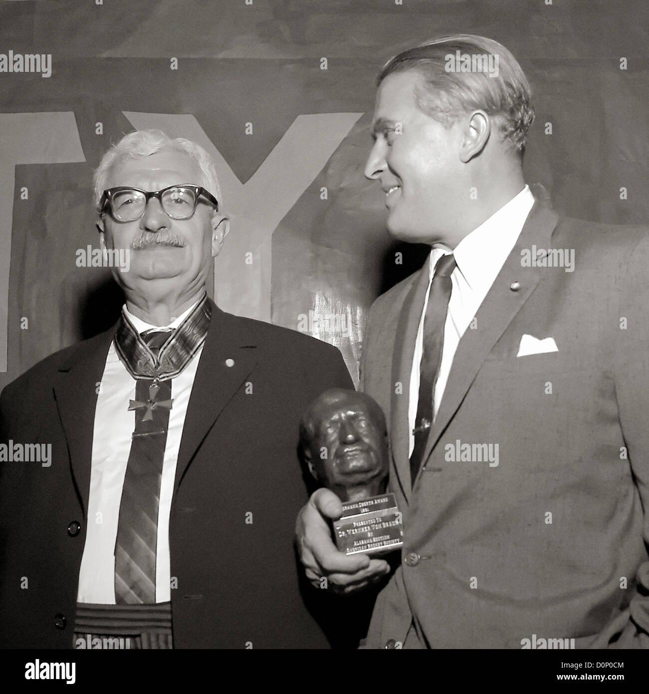 Hermann Oberth And Wernher Von Braun Stock Photo 52114404