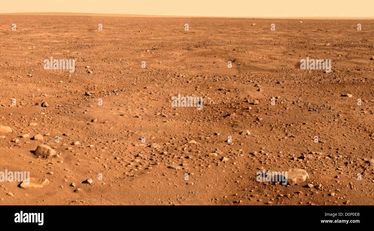 Martian High Arctic - Stock Image