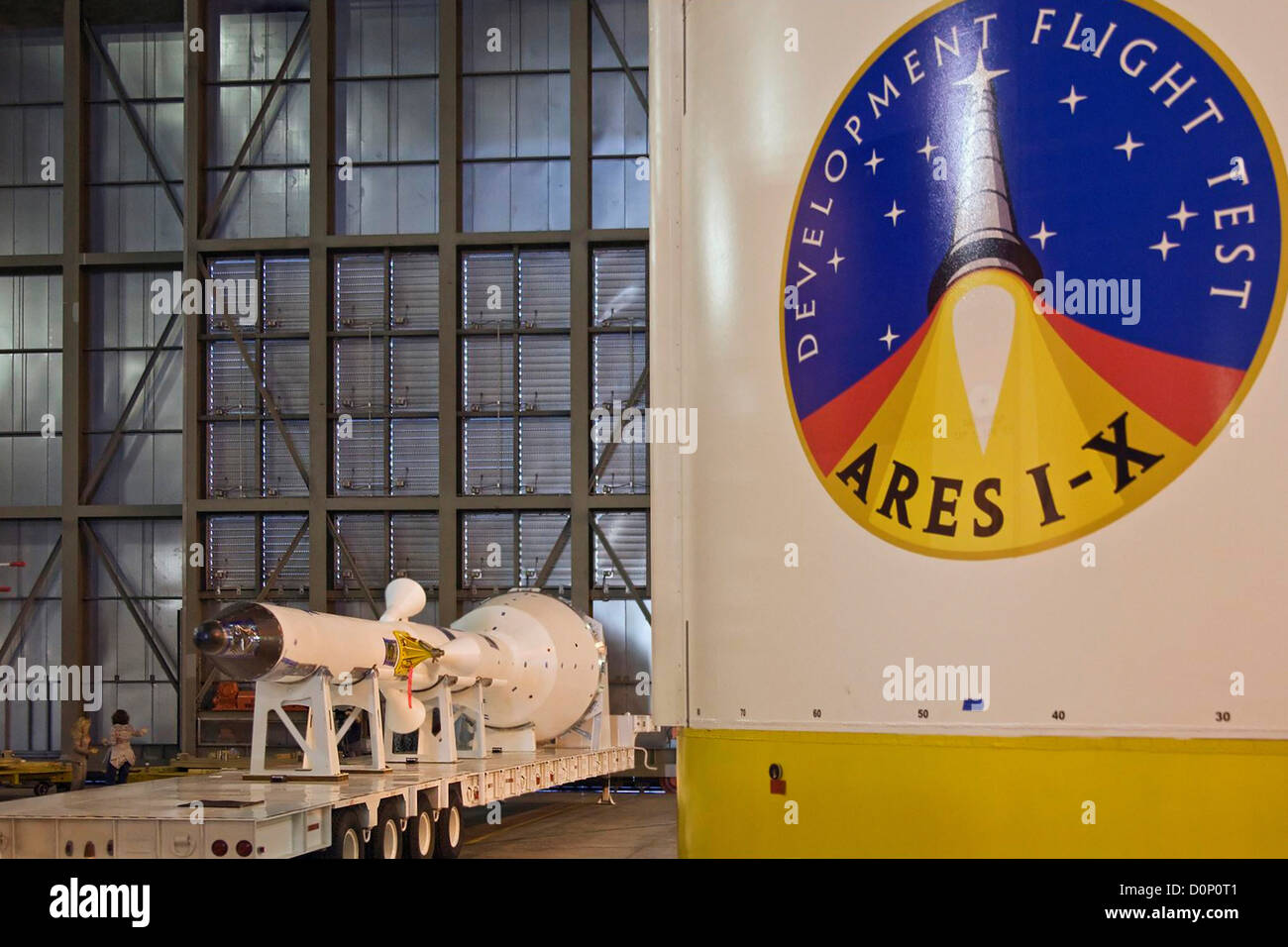 Ares I-X Launch Abort System - Stock Image