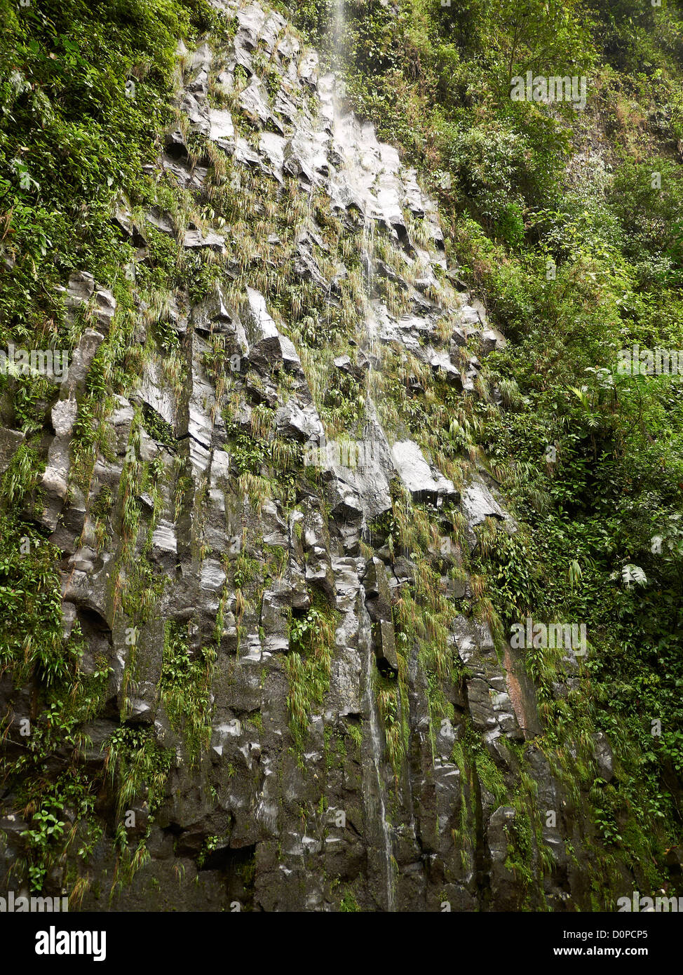 Fortuna waterfall; La Catarata de la Fortuna; La Fortuna; near Volcano Arenal National Park; Costa Rica; Central - Stock Image