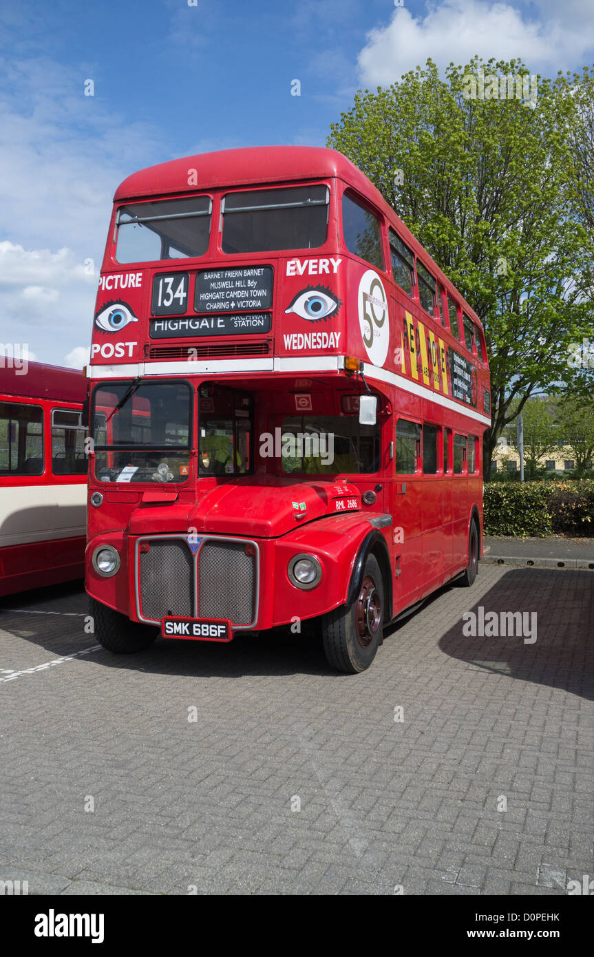Double Decker Bus - Stock Image