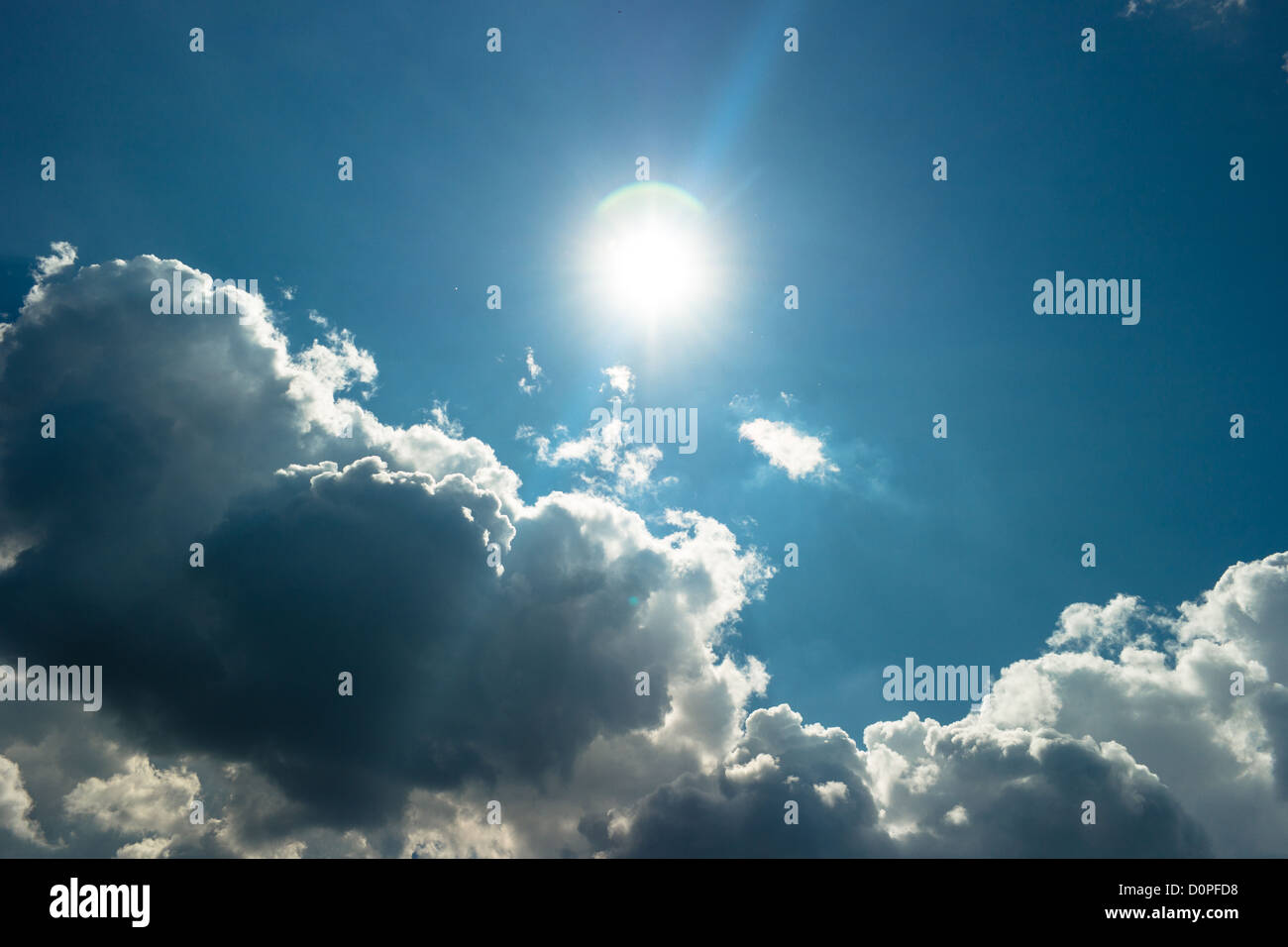 Atmospheric convection - Stock Image
