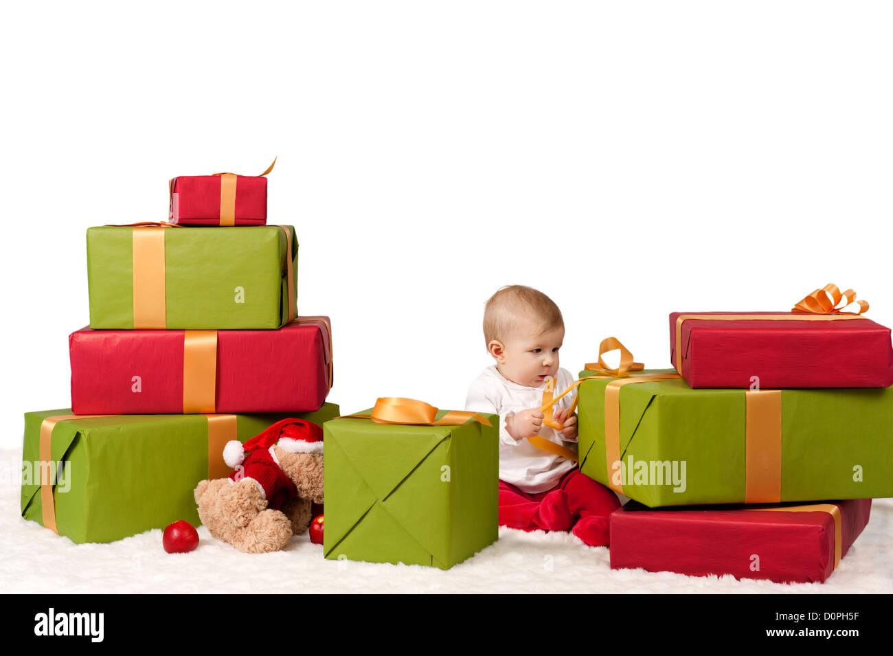 Christmas Presents Child Lots Stock Photos & Christmas Presents ...