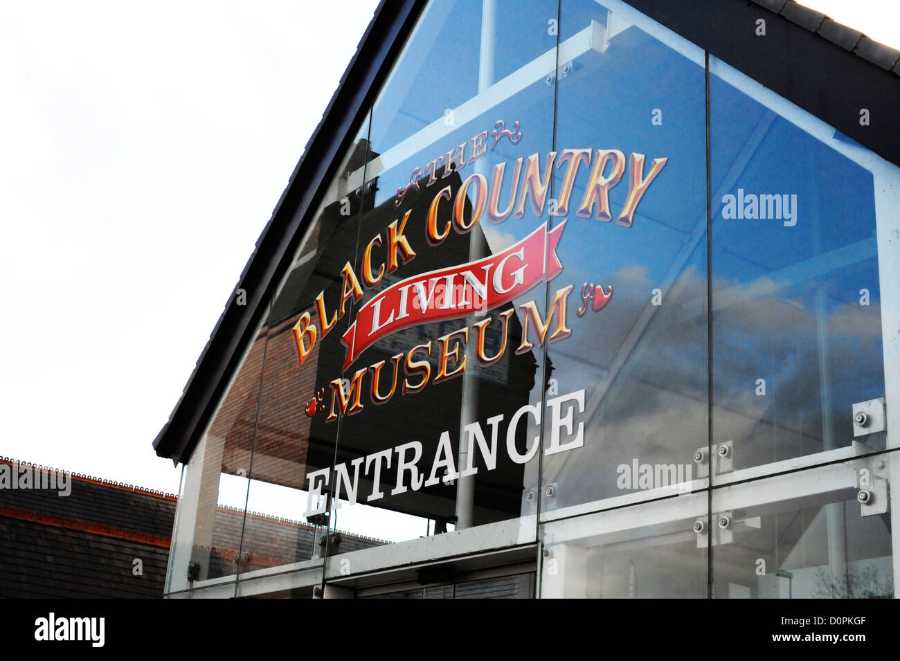 Black Country Living Museum, Dudley. - Stock Image