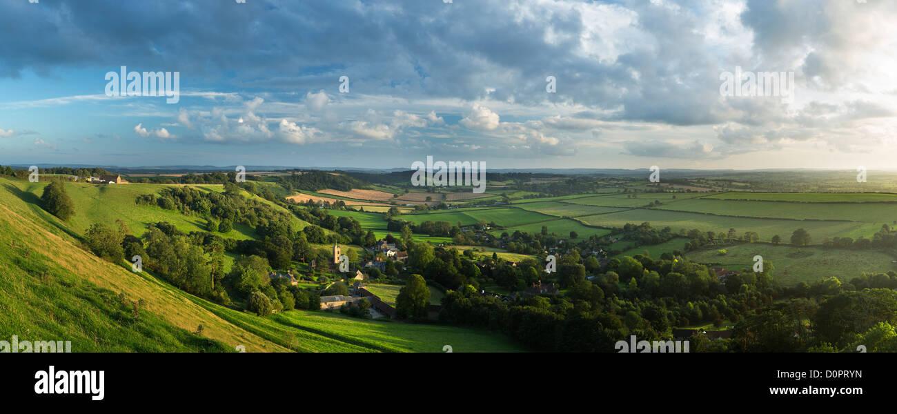 Corton Denham, Somerset, England, UK - Stock Image