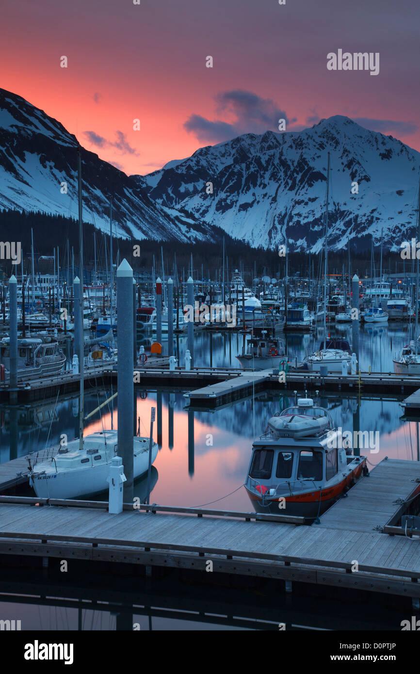 Seward Small Boat Harbor, Resurrection Bay, Seward, Alaska