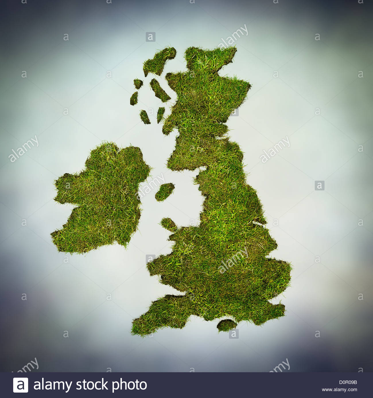 green UK - Stock Image