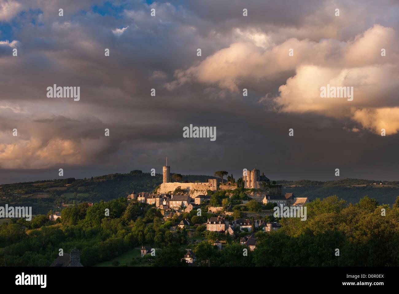 Turenne, Corrèze, Limousin, France - Stock Image
