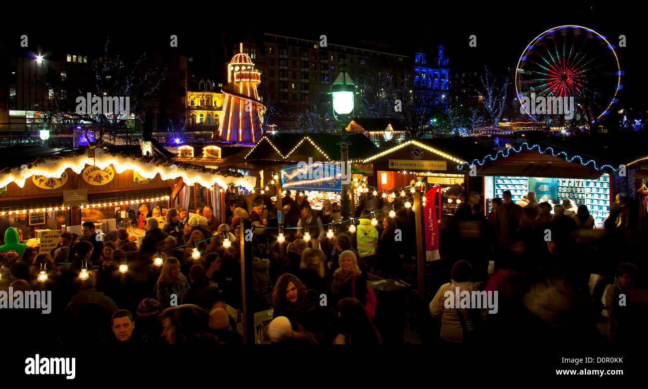 Edinburgh Christmas Market Food