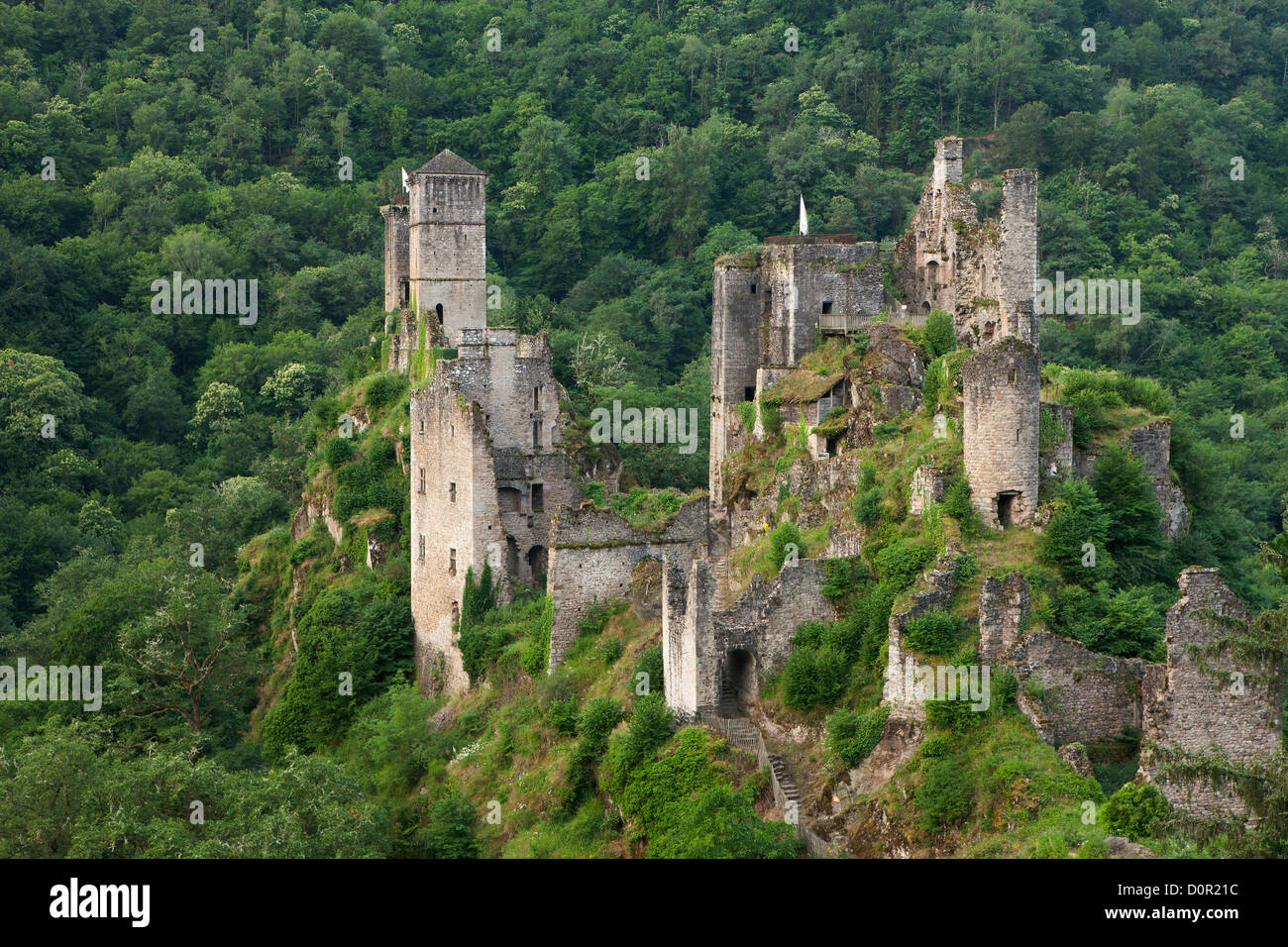 the Tours de Merle, Corrèze, Limousin, France - Stock Image
