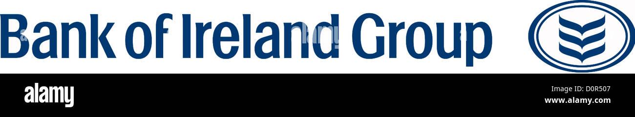 Logo of Irish bank company Bank of Ireland Group with seat in Dublin. - Stock Image