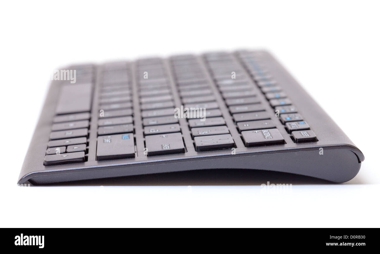 Computer keyboard with shallow dof - Stock Image