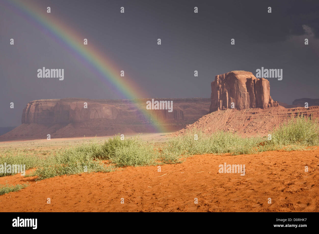 End of the Rainbow - Stock Image