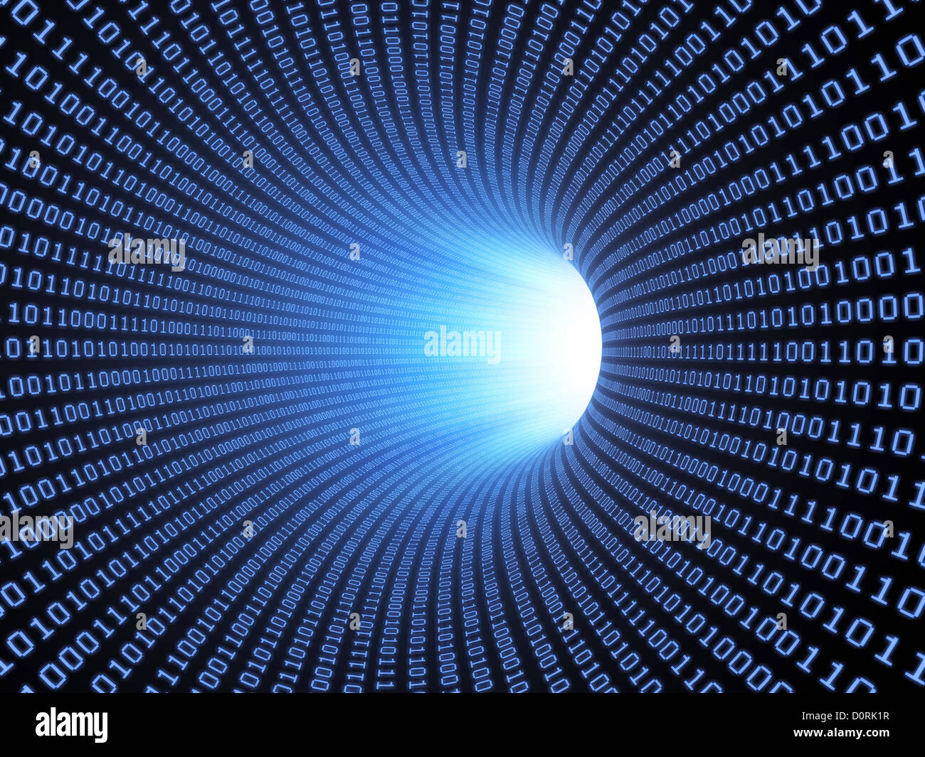 Binary background - Stock Image
