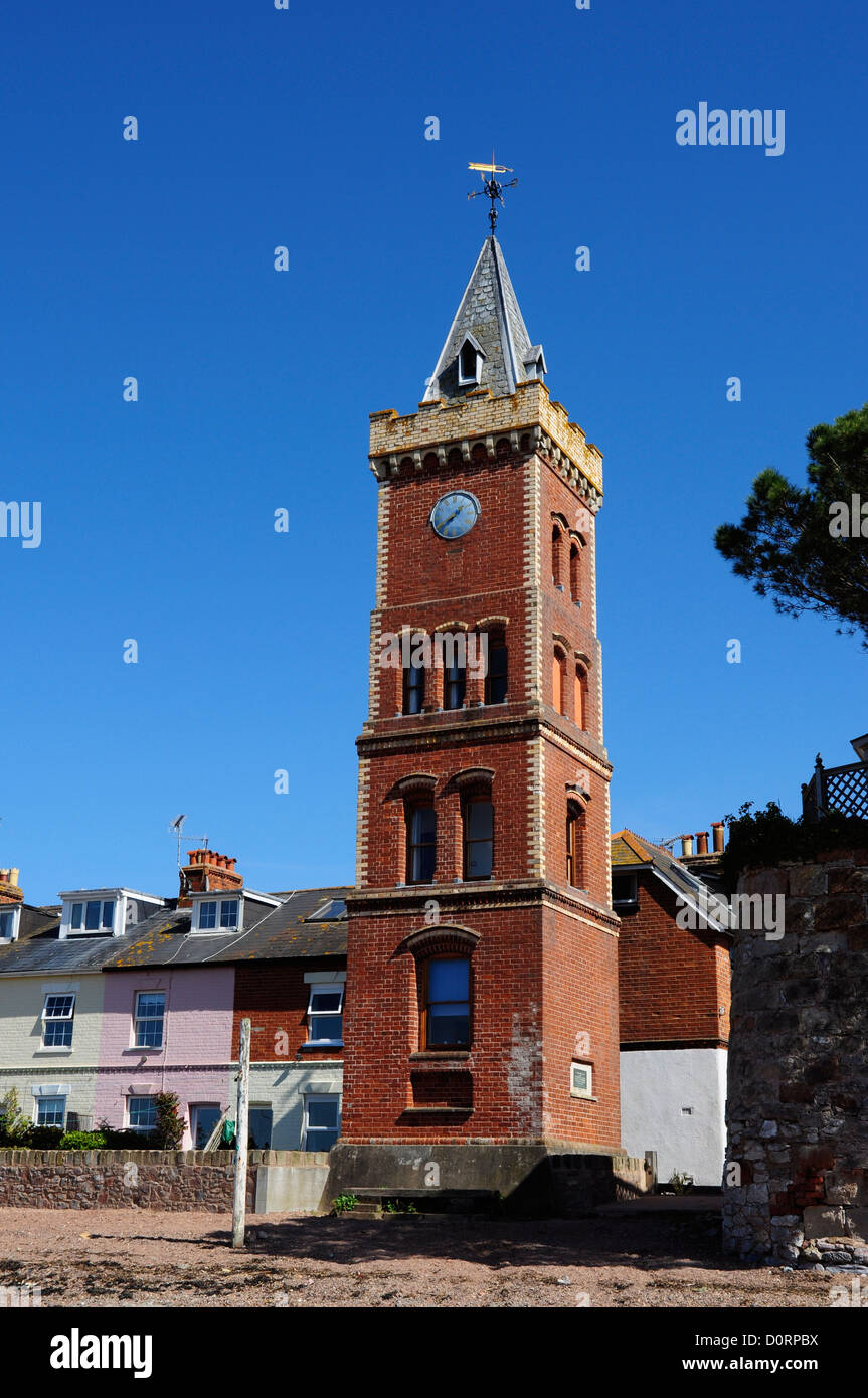 Peters Tower, Lympstone, Devon, England, UK - Stock Image