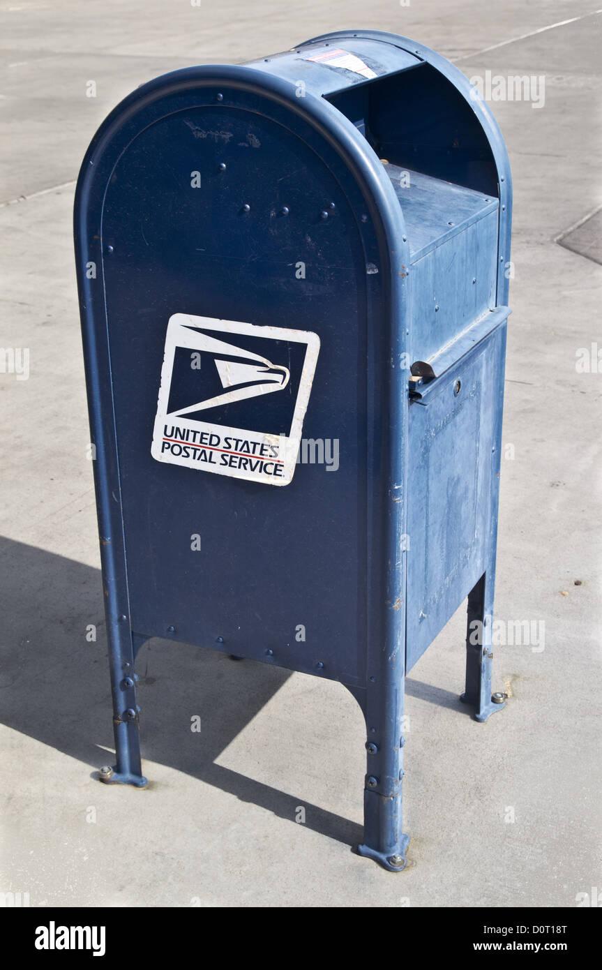 Postal Service Mailbox - Stock Image