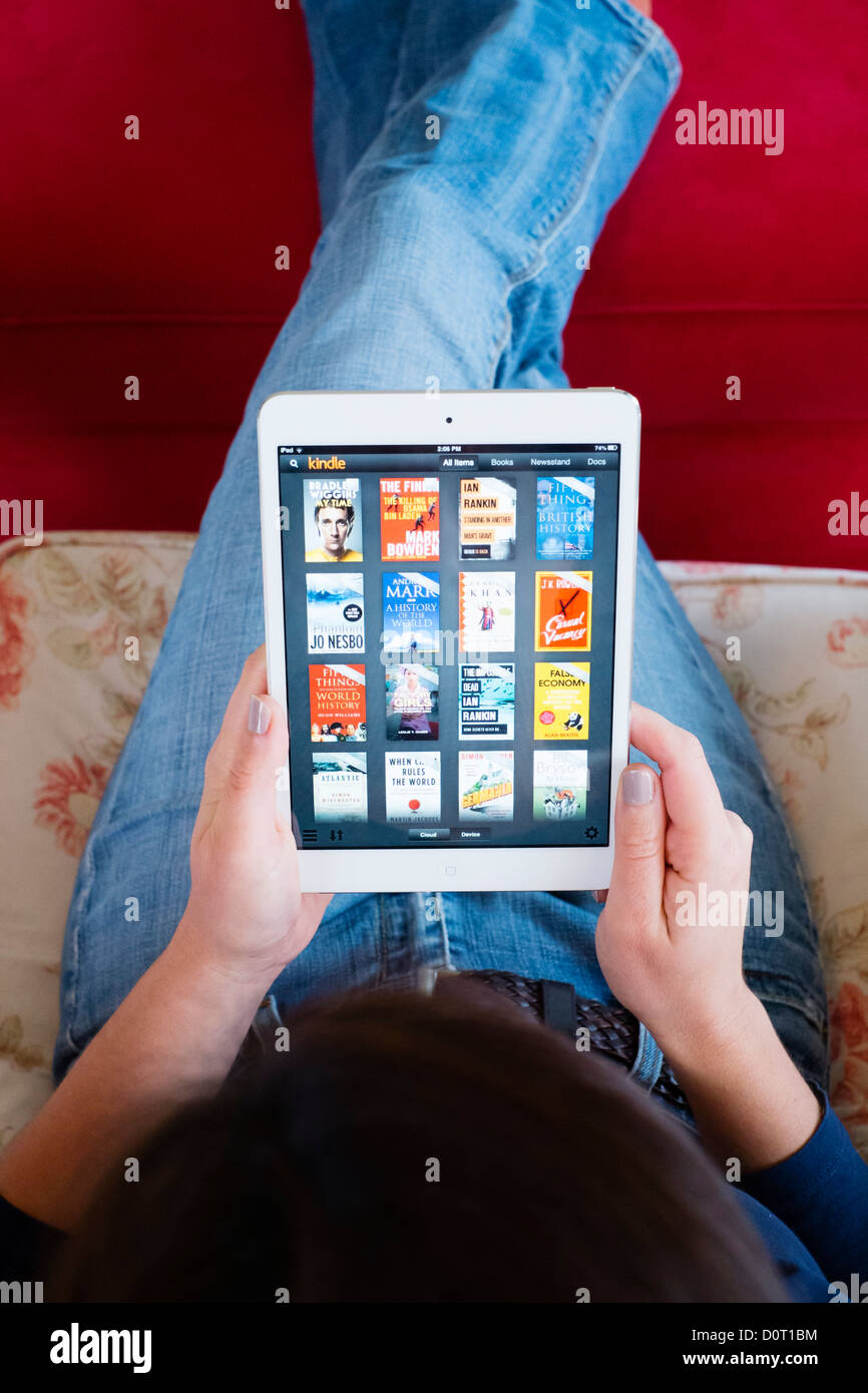 Kindle App Stock Photos & Kindle App Stock Images - Alamy