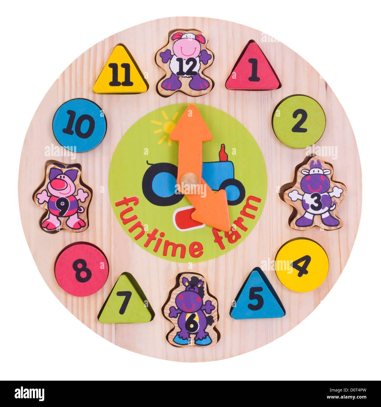 Cartoon Wall Clock Stock Photos Cartoon Wall Clock Stock Images