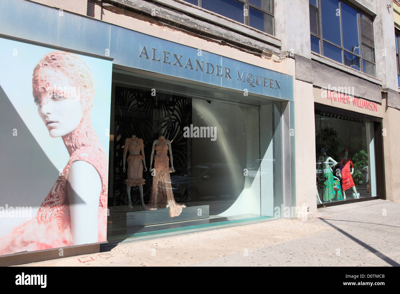 size 40 1e9d4 6cd89 Alexander McQueen Showroom, 14th Street, Meatpacking ...