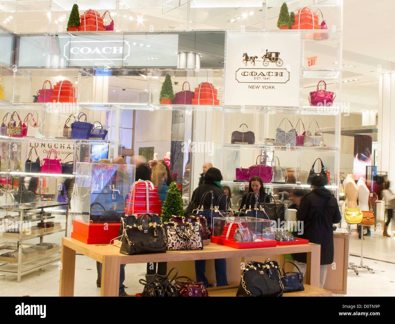 8280ea5a87e0 Coach Store Stock Photos   Coach Store Stock Images - Alamy