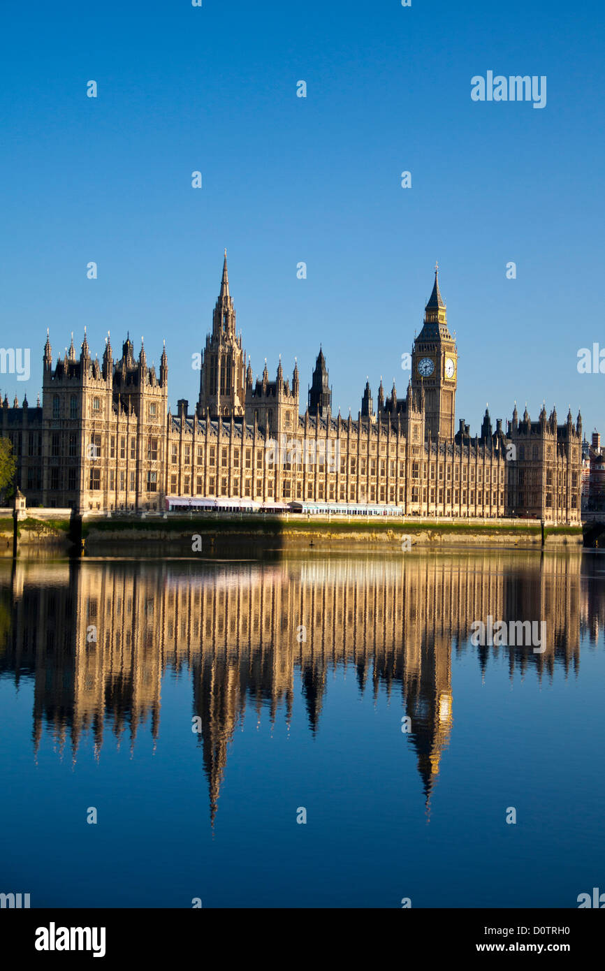 UK, Great Britain, Europe, travel, holiday, England, London, City, Palace of Westminster, Houses of Parliament, - Stock Image
