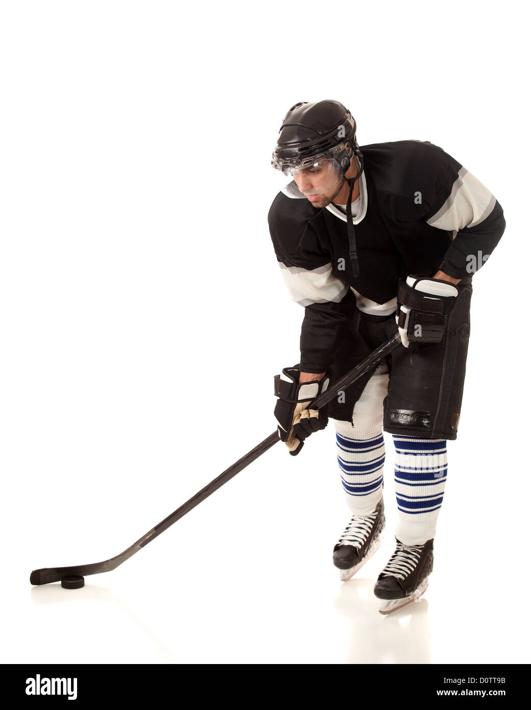 Ice Hockey Player - Stock Image