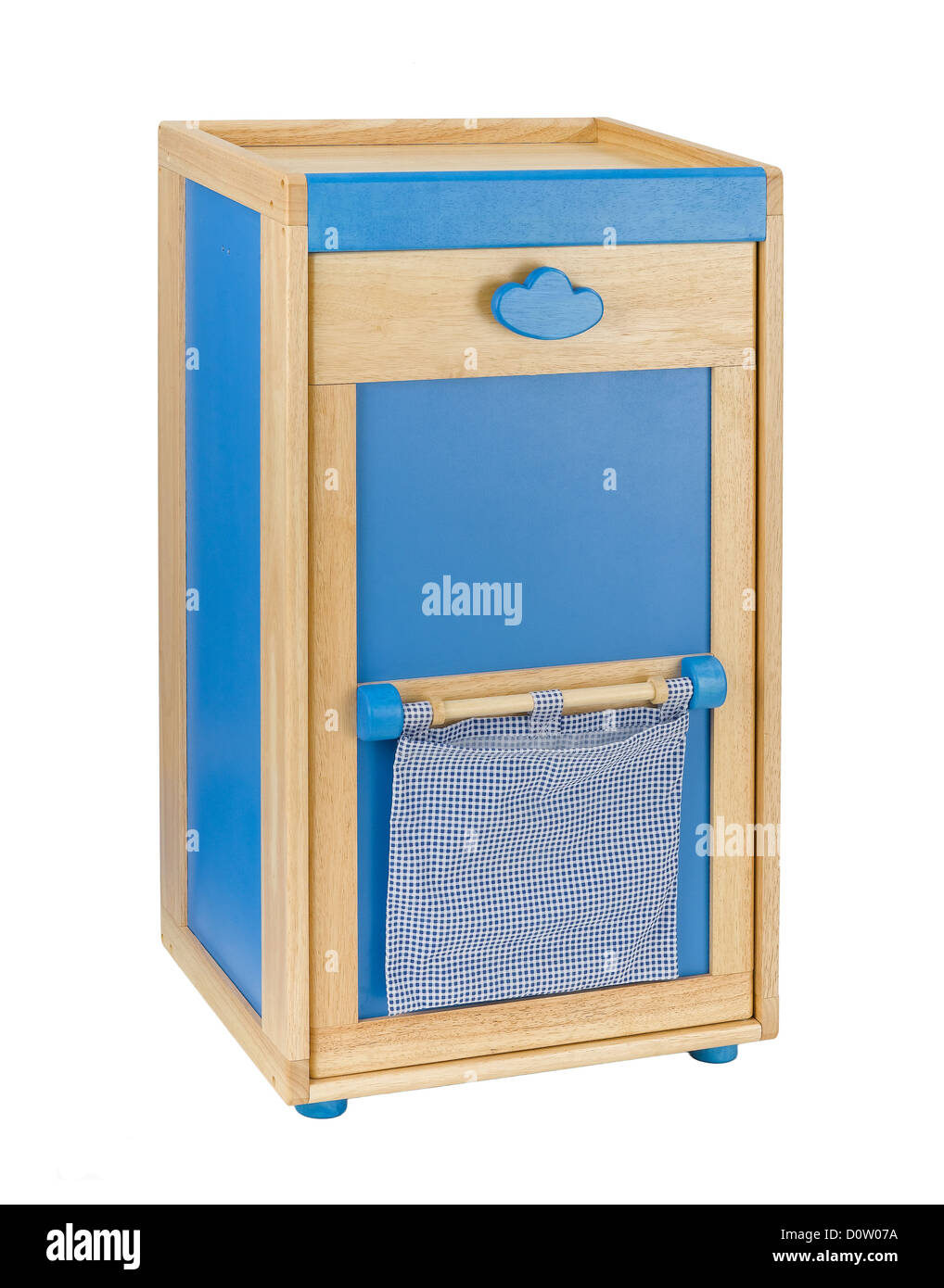 Wooden Cabinet For Kids To Keeping There Toys Or Stuffs Stock Photo