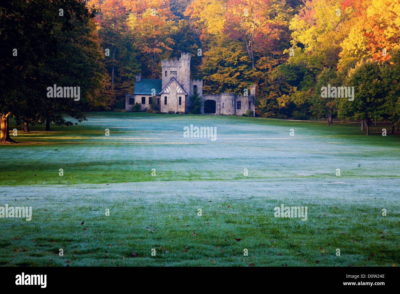 Cleveland Ohio Squires Castle Stock Photos & Cleveland Ohio