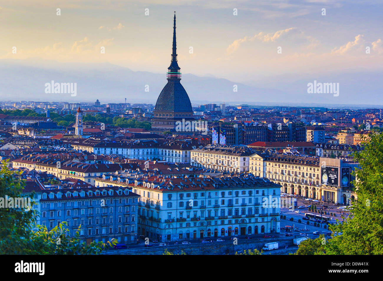 Italy Europe Travel Torino Turin City Mole Antonelliana Architecture Center Church Dome Downtown History Piedmont