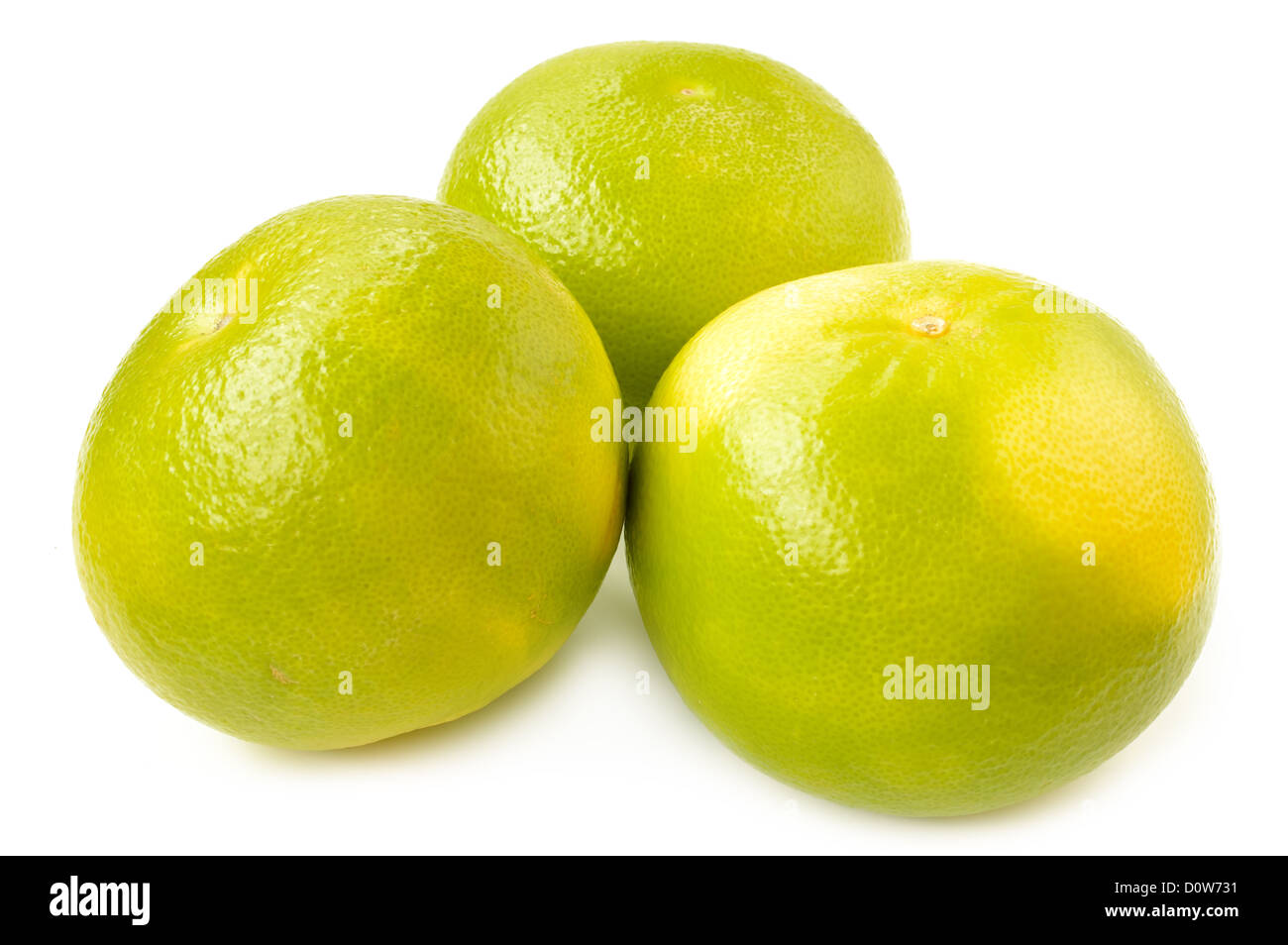 Citrus sveetie on a white background close-up - Stock Image