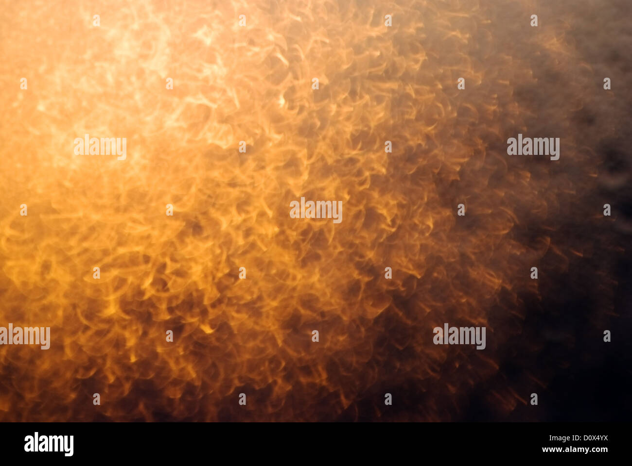 gold blured light - Stock Image