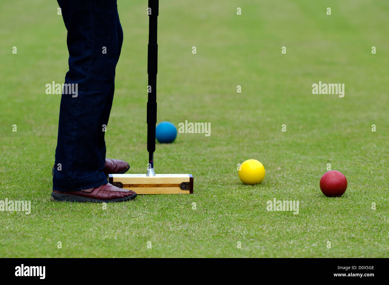 how to play croquet uk